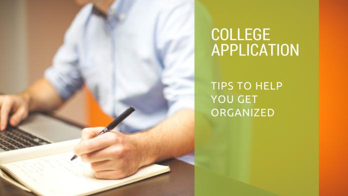 college app organization