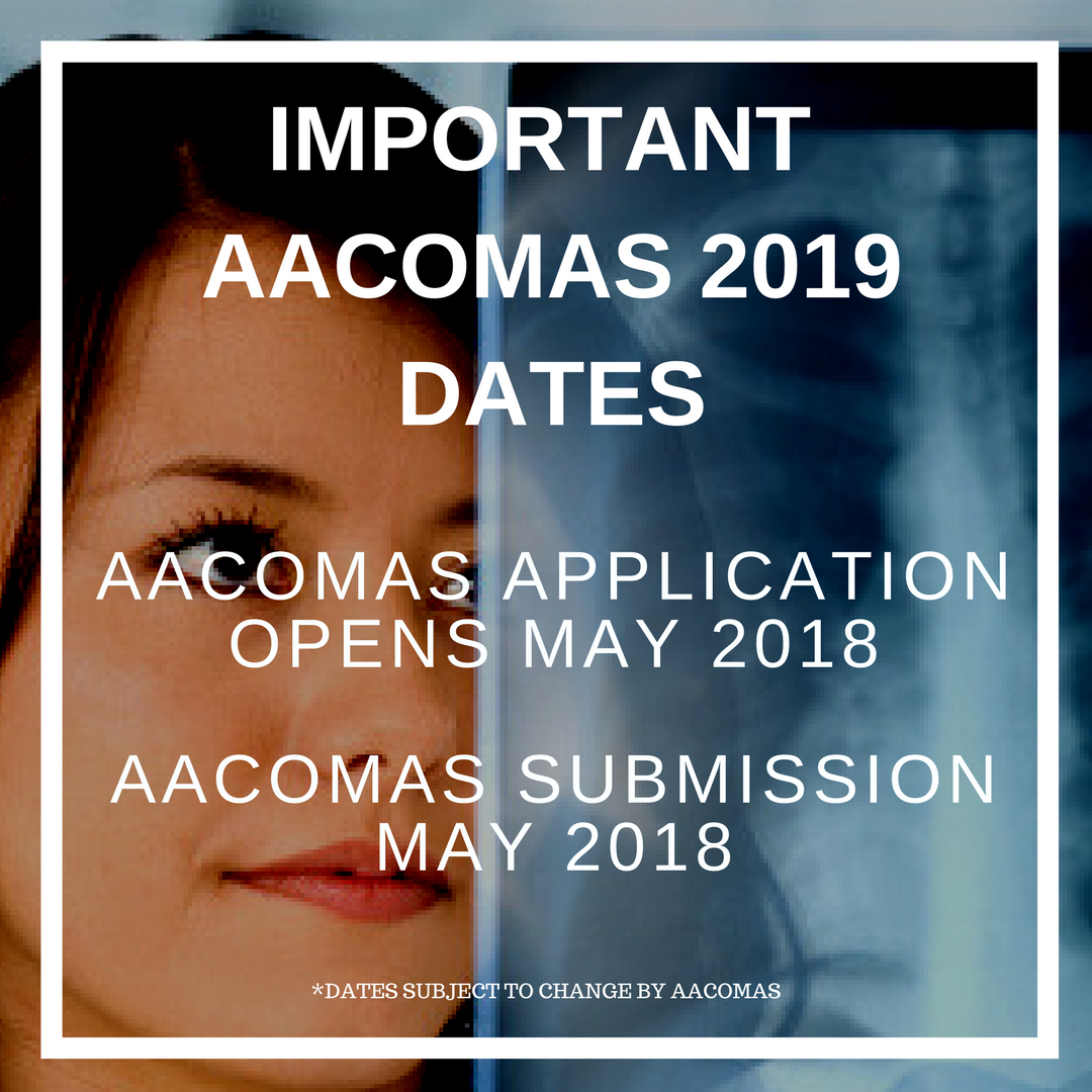 May 3, 2018: You can submit your AACOMASapplication June 15, 2018: Schoolsbegin receiving and processing applications