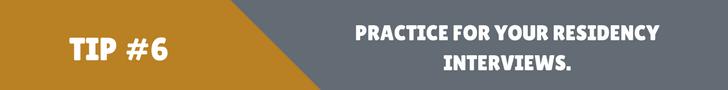 MedEdits: Practice For Residency Interviews