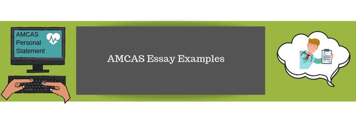 AMCAS Essay Examples