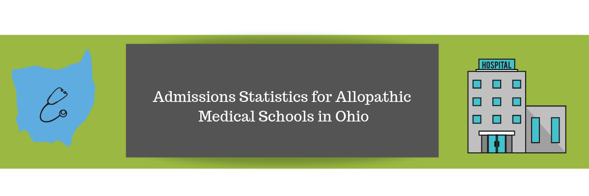 Admissions Statistics for Allopathic Medical Schools in Ohio