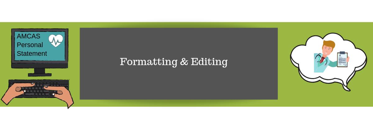 Formatting & Editing