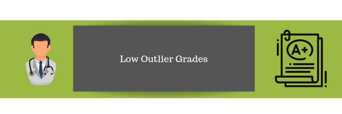 Low Outlier Grades