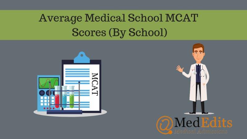 mcat scores by school