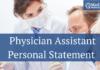 PA Personal Statement