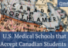US Medical Schools That Accept Canadian Students